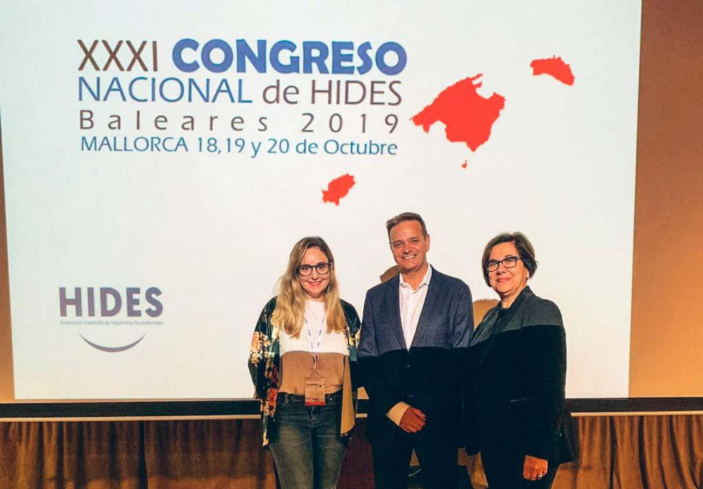Dr Fabregues en el Congreso Nacional de Hides